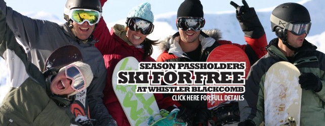 Mount Washington passholders ski/board for free at Whistler Blackcomb this January