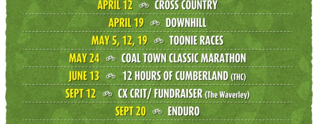 UROC Events Calendar is full of biking fun!
