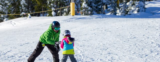 Learn to Ski and Snowboard Month Hits Mount Washington